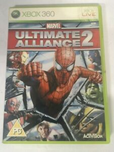 Ultimate Alliance 2 Microsoft Xbox 360 Game FREE P&P