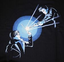 """Barty vs Doctor"" Doctor Who Harry Bartemius Crouch XL Shirt Teefury"