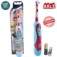 Oral-B Stages Power Disney Princess Electric Rechargeable Kids Toothbrush +timer