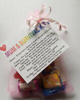 Mum`s Survival Kit  Mother`s Day Birthday Present Christmas Keepsake Gift Mum
