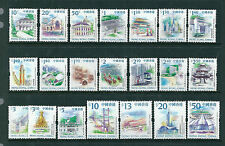 China Hong Kong 1999 - 2002 21V Definitive Stamp Full sets