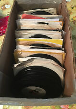 """Tejano Tex Mex Latin Puerto Rico Cuba""   ""Mixed Lot of 45 Records""  ""Rare 45's"""