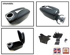 Black Armrest Arm Rest Console for AUDI A2 A3 80 100 200 TT