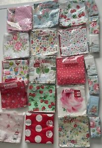 A Mixed Bundle of Cath Kidston's Paper Napkins & Tissues - For Decoupage Crafts