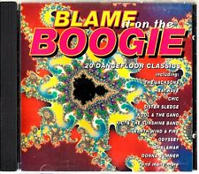 BLAME IT ON THE BOOGIE-Best Of Disco Classics CD (Jacksons/Chic/70s/80s)