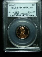 1994-S Proof Lincoln Cent - PCGS PR-69RD DCAM