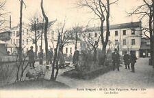 Paris - Ecole Bréguet 81-83, rue Faiguière - les Jardins
