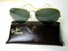 Vintage Ray Ban Aviator Sunglasses With Case!