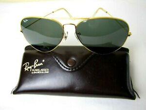 VINTAGE RAY BAN AVIATOR SUNGLASSES WITH CASE!!
