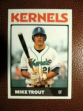 Mike Trout Minor League Rookie - MINT - Cedar Rapids Kernels - LA Angels
