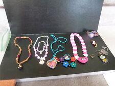Disney Girl Jewelry Mickey Minnie Mouse Pocahontas Nala necklace bracelet lot