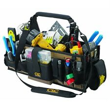 Open Top Tool Bag 43 Pocket Organizer Electrical Maintenance Tools Box Carrier