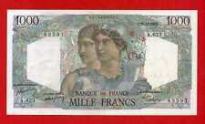 (Ref: A.623) 1000 FRANCS MINERVE ET HERCULE 15/12/1949 (SUP-)