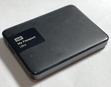 WD 1TB My Passport Ultra Portable External Hard Drive USB 3.0 WDBGPU0010BBK-0B