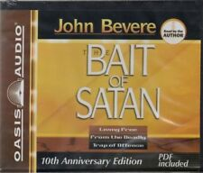 John Bevere, The Bait Of Satan Audio Book On CD, (5 CDs), Unabridged, New/Sealed