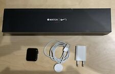 Apple Watch Series 3 42mm Nike+ Cellular LTE Aluminiumgehäuse Space Grau Gray