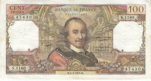 Billet 100 F Corneille du 2-3-1978 FAY 65.62 Alph. S.1180