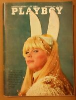 Playboy November 1966 * Very Good Condition * Free Shipping USA