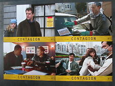 CONTAGION - 6 Aushangfotos - Matt Damon, Kate Winslet, Jude Law