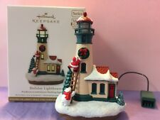 Holiday Lighthouse 1st in Series 2012 Hallmark Ornament