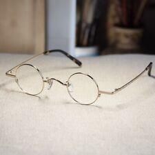 Round eyeglasses John Lennon glasses men's rx optical glasses gold frame small