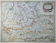 MERCATOR HONDIUS ÖSTERREICH SALTZBURG ARCHIEPISCOPATUS SALZBURG KÄRNTEN 1633