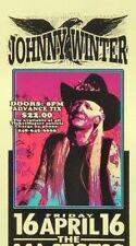 Johnny Winter Concert HANDBILL Mark Arminski Purple