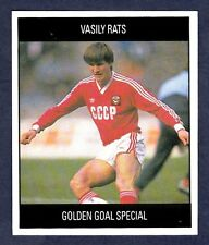 ORBIS 1990 WORLD CUP COLLECTION-#L-RUSSIA-VASILY RATS-GOLDEN GOAL SPECIAL