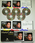 BOX 5 CD MARIA CALLAS L'indimenticabile SELEZIONE READER'S DIGEST lp mc dvd