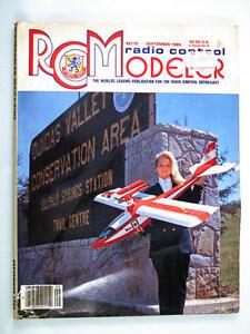 Radio Contrôle Modeleur Magazine September 1989 Anglais Modélisme