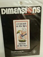 Dimensions A Moment on the Lips Counted Cross Stitch Kit Pig Kitchen Diet NEW
