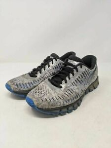 Asics Mens Gel Quantum 360 Running Shoes Metallic Gray T5J1N Low Top Lace Up 8M