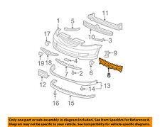 HONDA OEM 07-08 Fit Front Bumper-Lower Bottom Grille Grill 71102SLNA00