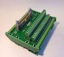 IDC-34 Male Header Breakout Board Screw Terminal Adaptor DIN rail mounting