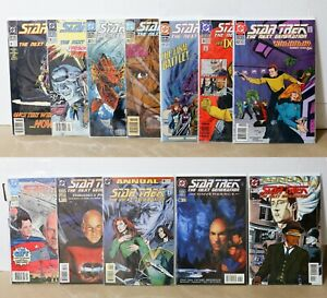 DC Comics Star Trek The Next Generation Issues 6 15 23 25 27 35 42 + ANNUALS
