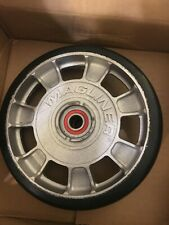"Magliner 8"" Diameter Mold On Rubber Wheel 10815"