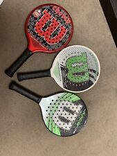 Wilson Platform Tennis Paddles
