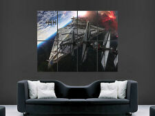 STAR WARS MOVIE IMPERIAL DESTROYER  WALL POSTER ART PICTURE PRINT LARGE  HUGE