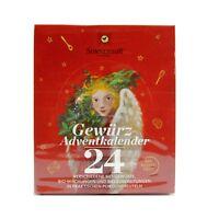 (11,20 EUR/100 g) Sonnentor Gewürz Adventskalender 24 Mischungen bio 116 g