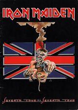 IRON MAIDEN 1988 SEVENTH TOUR OF A SEVENTH TOUR CONCERT PROGRAM BOOK / EX 2 NMT