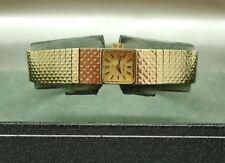 1970's Ladies 9ct Gold Omega Cocktail Bracelet Watch