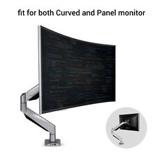 Loctek D7R Monitor Mount fits for both 10''-34'' Curved and Panel Monitors