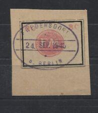Localement Fredersdorf sp 250 estampillé sur lettre pièce (b05666)