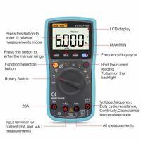 VC17B+ Automatic Manual Digital LCD Screen Display Multimeter Measurement ToolFF