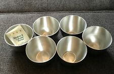 Set of Six Kirk Stieff Pewter Monticello Collector Cups