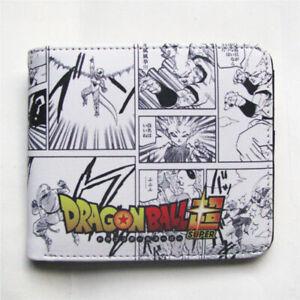 Dragon Ball Z Wallet Dragon Ball Super Broly Anime Coin Pocket ID Card Holder