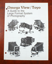 TOYO OMEGA VIEW/TOYO SALES BROCHURE, 1984/196027