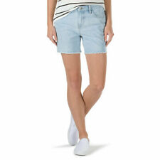 VANS Boyfriend Cut Denim Shorts Women's New
