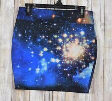 Hot Topic Star Galaxy print Mini Skirt Size Medium