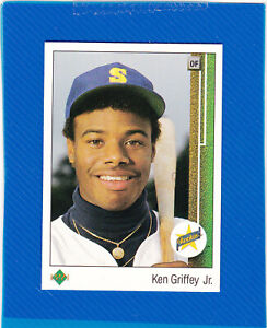 1989 Upper Deck Ken Griffey Jr. Rookie Card RC #1